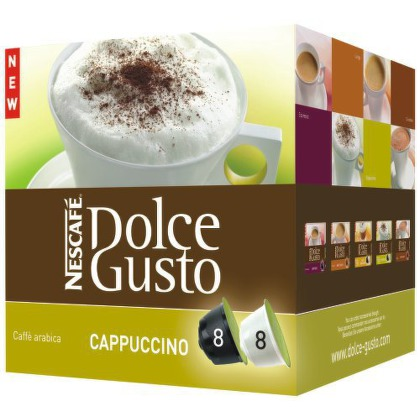 how to prepare nescafe cappuccino