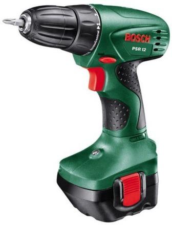 Aku vrtačka Bosch PSR 12, 2 aku