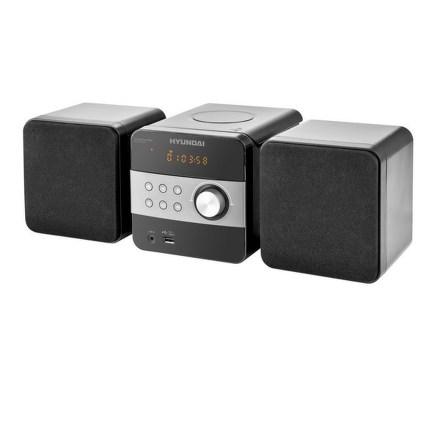 Mikrosystém Hyundai MS 131 DU3, CD, MP3, USB, LINE IN, dálkové ovládání