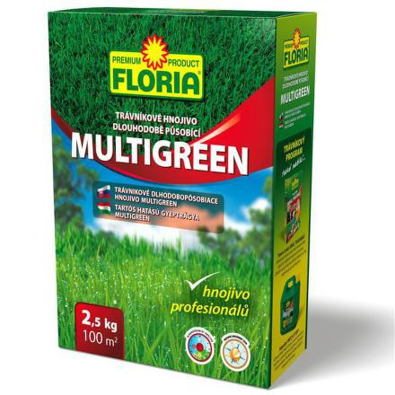 Hnojivo Agro FLORIA Trávníkové dlouhopůsob. 2,5kg