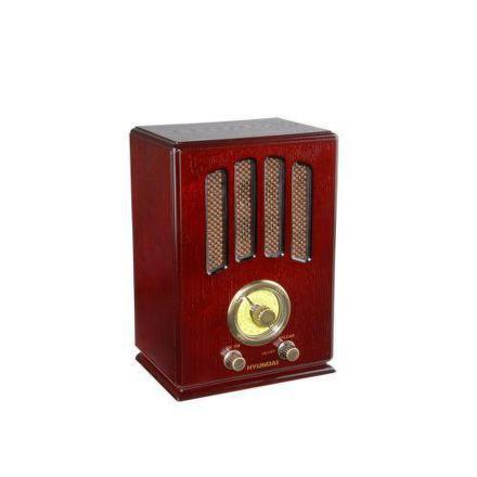 Radiopřijímač Hyundai RA 104 RETRO, třešeň
