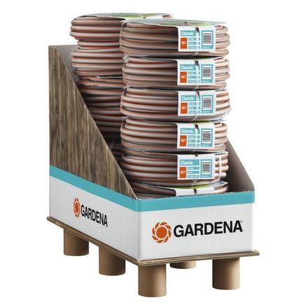 Příslušenství pro zavlažování Gardena - nástěnný držák na hadici s hadicí