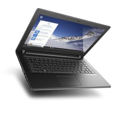 "Ntb Lenovo IdeaPad 300-14IBR Celeron N3150, 2GB, 500GB, 14"""", HD, bez mechaniky, nVidia 920M, 1GB, BT, CAM, W10 - černý"