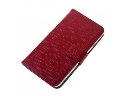 Pouzdro BOOK GLAMMY XL Red