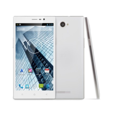 Mobilní telefon GoClever Quantum 600 Dual SIM - bílý