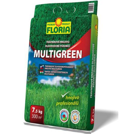 Hnojivo Agro FLORIA Trávníkové dlouhopůsob. 7,5kg