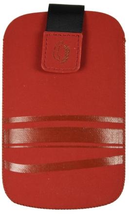 Pouzdro HTC HD2 FRESH SPLIT Red