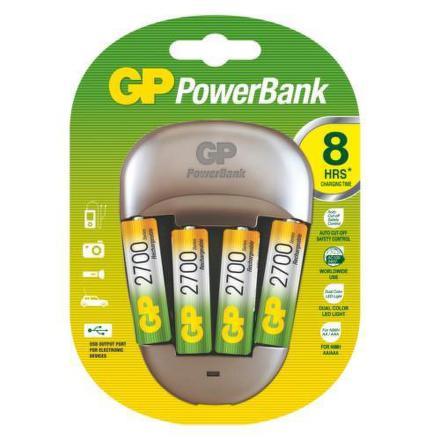 Nabíječka GP PB27+4NiMH2700