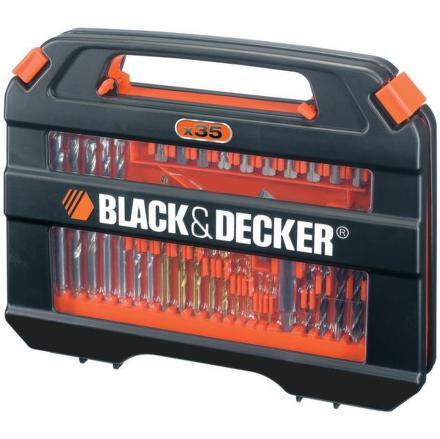 Sada vrtáků a bitů Black&Decker A7152 35 dílná