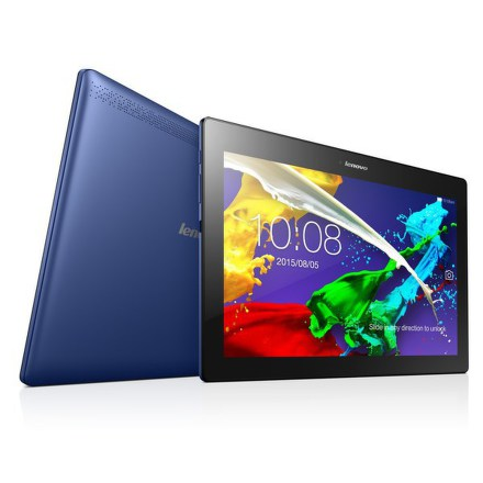"Dotykový tablet Lenovo TAB 2 A10-70F 10.1"""", 16 GB, WF, BT, GPS, Android 4.4/ Android 5.0 - modrý"