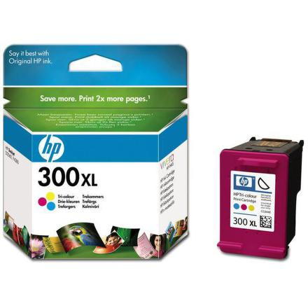 Inkoustová náplň HP No. 300XL, 11 ml, 440 stran originální - červená/modrá/žlutá