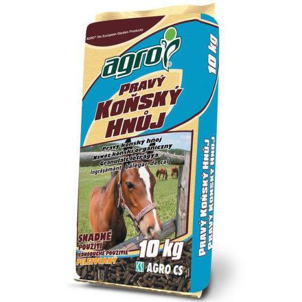 Hnojivo Agro Pravý koňský hnůj 10 kg