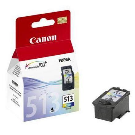 Inkoustová náplň Canon CL-513C, 350 stran originální - červená/modrá/žlutá