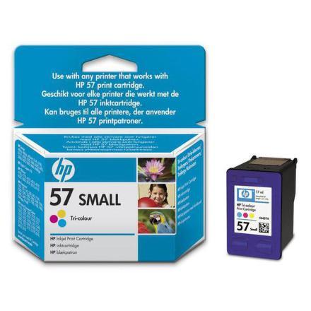 Inkoustová náplň HP No. 57, 4,5ml originální - červená/modrá/žlutá