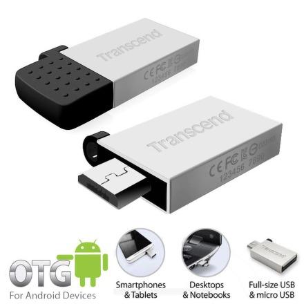 Flash USB Transcend JetFlash 380S 32GB USB 2.0 - stříbrný