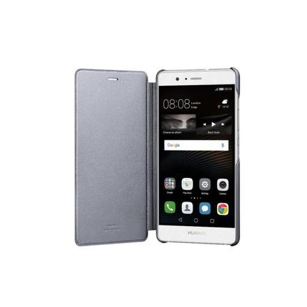Pouzdro na mobil flipové Huawei P9 Lite Flip Cover - šedé