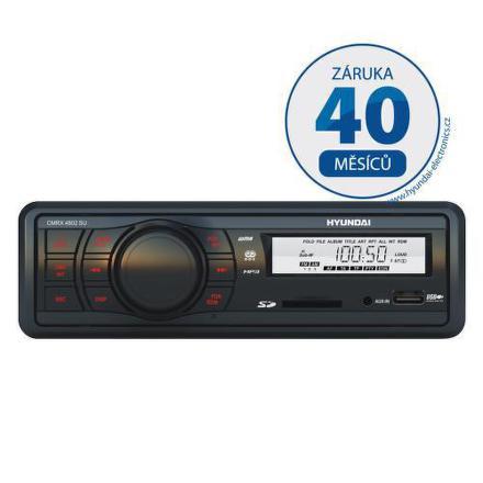 Autorádio Hyundai CMRX 4802 SU, MP3/USB/SD/MMC/AUX-IN