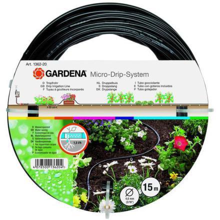 "Hadice Gardena, nadzemní 4,6 mm (3/16""), 15 m"