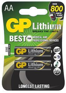 GP LR6 LITHIUM (2ks - blistr)
