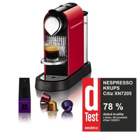 Espresso Krups XN7205 Nespresso Citiz