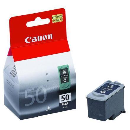 Inkoustová náplň Canon PG50, 22ml originální - černá