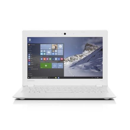 "Ntb Lenovo IdeaPad 100S-11 Atom Z3735F, 2GB, 64GB, 11.6"""", HD, bez mechaniky, Intel HD, BT, CAM, W10 Microsoft Office 365 - bílý"