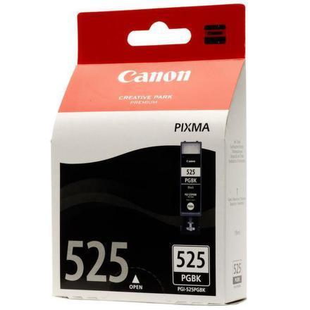 Inkoustová náplň Canon PGI-525 Bk, 340 stran originální - černá