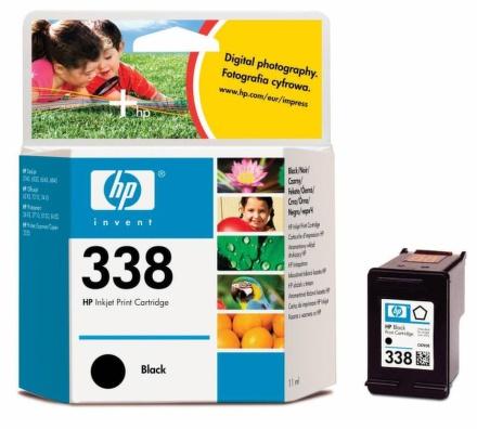 Inkoustová náplň HP No. 338, 960 stran originální - černá
