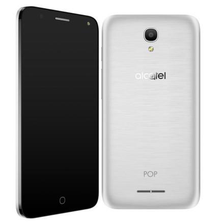 Mobilní telefon ALCATEL POP 4 5051D - stříbrný