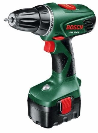 Aku vrtačka Bosch PSR 14,4-2, 2 aku