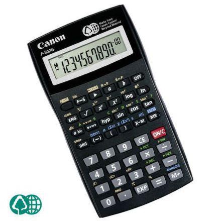 Kalkulačka Canon F-502G, černá
