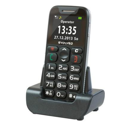 Mobilní telefon Evolveo EasyPhone EP-500 - černý