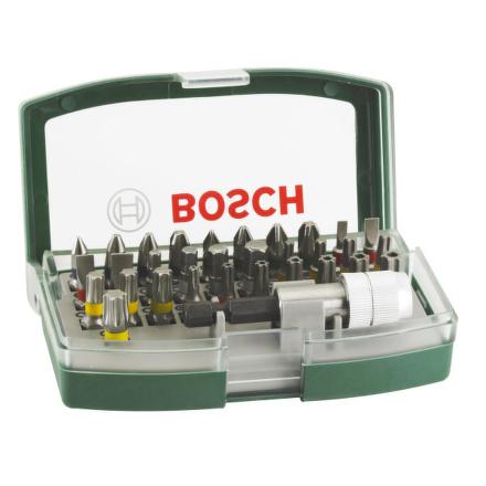 Sada bitů Bosch 32 dílná s barevným odlišením