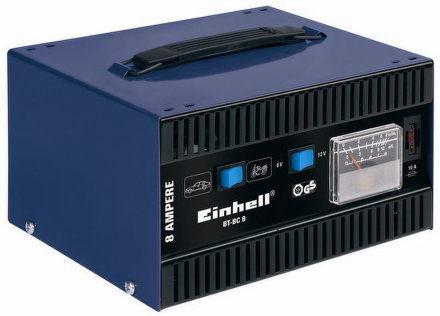 Nabíječka autobaterií Einhell BT-BC 8 Blue