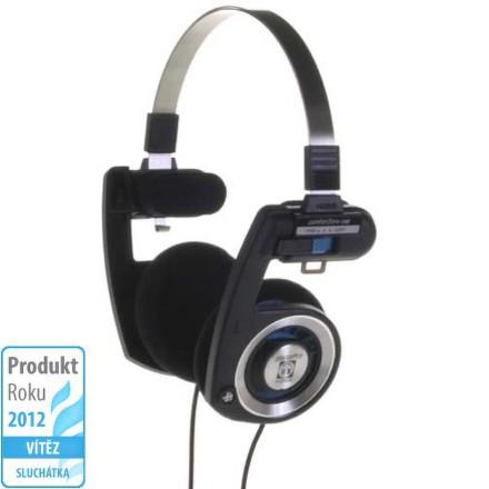 Sluchátka Koss PORTA PRO I (doživotní záruka) - černá/stříbrná