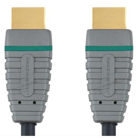 Kabel Bandridge Blue HDMI 1.4, A - A, 2m