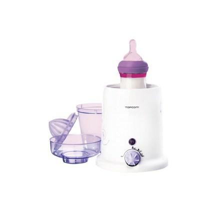Ohřívač kojeneckých lahví Topcom 301 - 3v1 - bílá/fialová