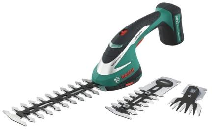 Nůžky na trávu Aku Bosch ASB 10,8 LI Set, na keře a trávu