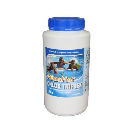 Bazénová chemie Marimex AQuaMar - Chlor Triplex 1,6 kg