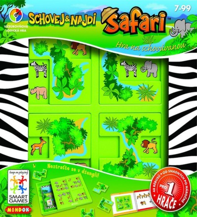 Hra Mindok SMART - Safari