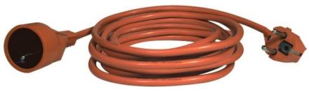 Kabel prodlužovací EMOS P01120 20m - oranžová