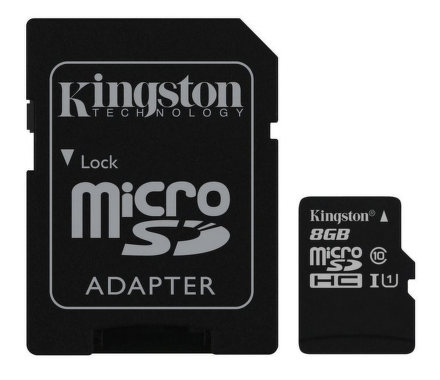 Kingston microSDHC 8GB UHS