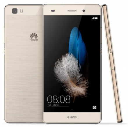 Huawei P8 Lite Dual SIM Gold + dárek ADATA PV150 10000mAh černý zdarma