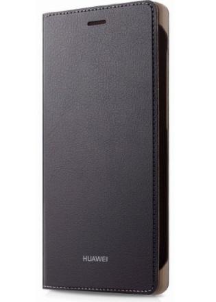 Pouzdro na mobil flipové Huawei pro P8 Lite - hnědé