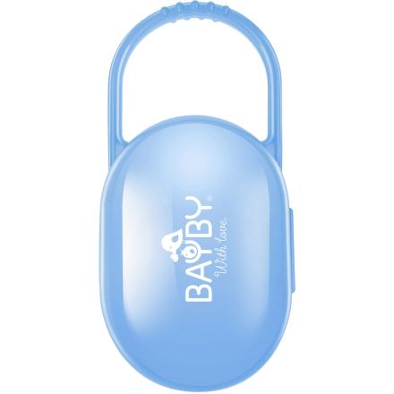Pouzdro na dudlík modré BAYBY BBA 6401