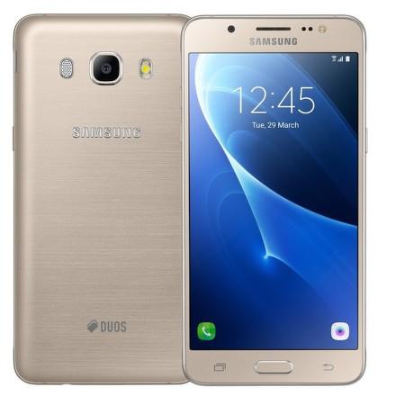 Mobilní telefon Samsung Galaxy J5 2016 (J510F) Dual SIM - zlatý