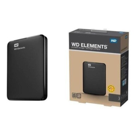 Western Digital Elements Portable 750GB - černý