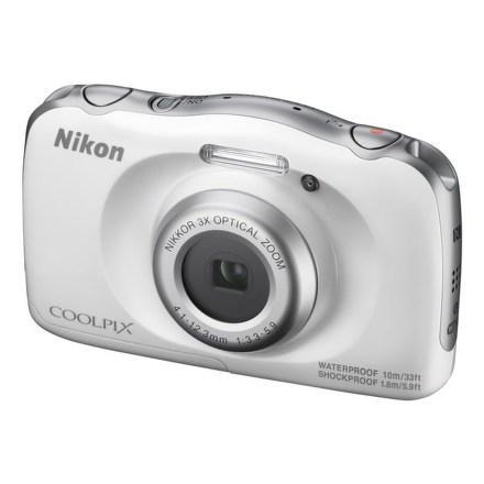 Fotoaparát Nikon Coolpix W100 bílí + dětský batoh ZDARMA