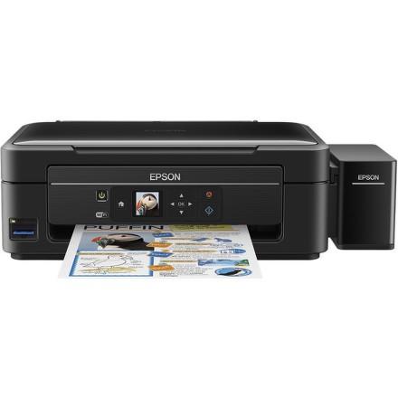 Tiskárna multifunkční Epson L486 A4, 10str./min, 5str./min, 5760 x 1440, WF, USB - černá