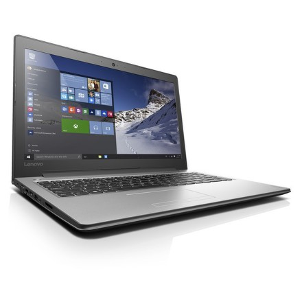 "Ntb Lenovo IdeaPad 310-15ISK i3-6100U, 4GB, 1TB, 15.6"""", Full HD, bez mechaniky, nVidia 920MX, 2GB, BT, CAM, W10 - stříbrný"